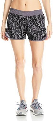 adidas Women's Training 100M Dash Knit Shorts Print