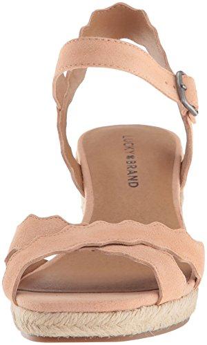 Light Women's Brand Espadrille Lk Amber Lucky Sandal Wedge Marleigh UFv8xn
