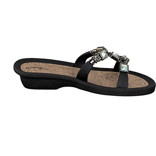 y Linea Zapatos Zapatillas Negro baño Zapatillas MESTRE Scarpa informales Mujer UwxvqxaA4W