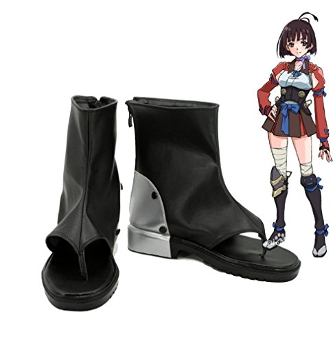 Bromeo Kabaneri of the Iron Fortress Mumei Cosplay Schuhe