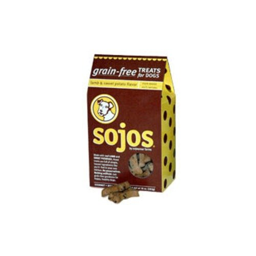 Sojos Grain Free Lamb and Sweet Potato Dog Treats by Sojourner Farms