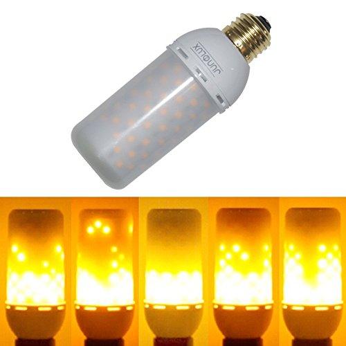 Junolux Led Burning Light Flicker Flame Light Bulb Fire