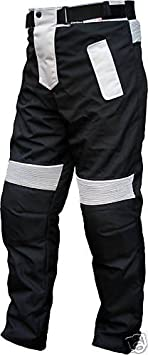 /Pantalones de motorista Cordura Textiles Pantal/ón de Motorista Combi Pantal/ón German Wear/ negro//gris