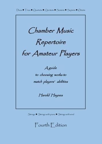 Chamber Music Repertoire for Amateur Players: A Guide to Choosing Works to Match Players' Abilities