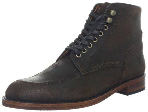 Botines de ante con cordones Walter para hombre, marrš®n oscuro, 9.5 M US: Amazon.es: Zapatos y complementos