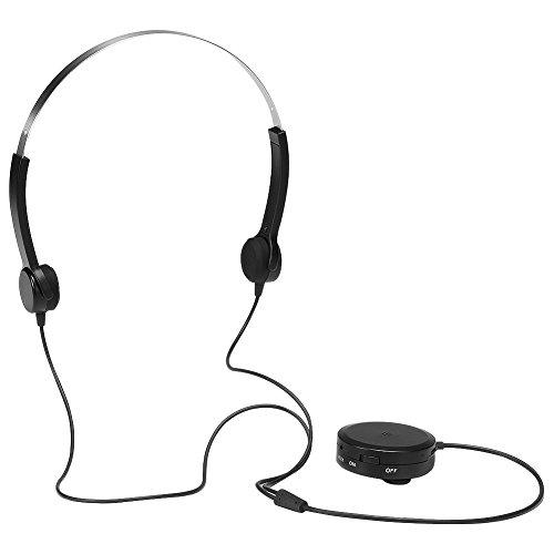 ocama auriculares de conducción ósea audífono amplificador de sonido £ ¬ cuidado salud auriculares para personas con...