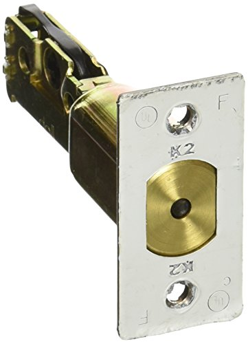 Stanley Commercial Hardware Bolt Latch for QDB100 and QDB200 Series Auxiliary Deadbolts, Wide Face, Square Corner, 2.375