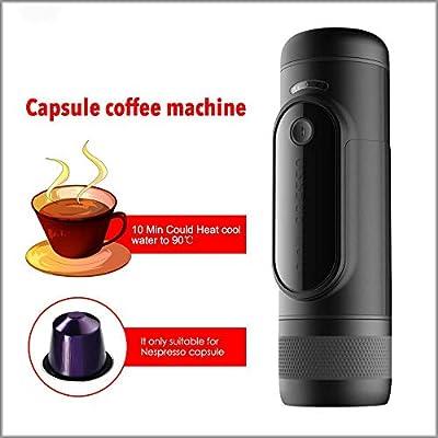 Cafetera portátil Máquina de cápsulas de carga Máquina de café ...