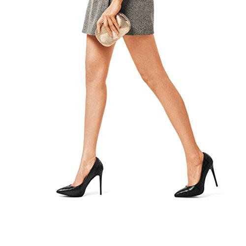 Tacco A Scarpe Alto Belle Professionale Con Nero Punta Donne Volte 11cm Hyun Singolo PqS48P