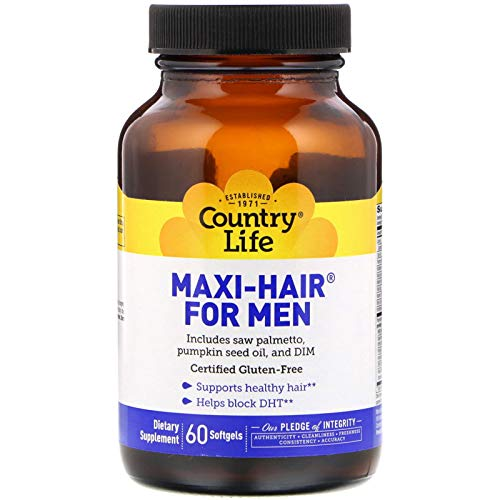 Country Life, Maxi Hair for Men, 60 ()