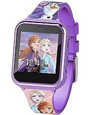 Disney Frozen Touch-Screen Smartwatch, Built in Selfie-Camera, Easy-to-Buckle Strap, Purple Smart Watch