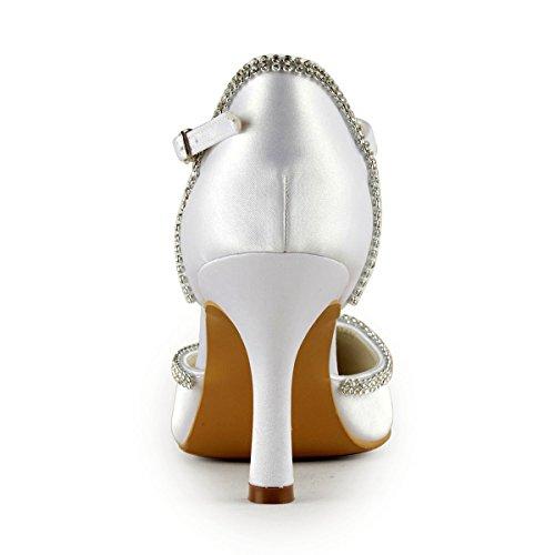 Donna bianco Minitoo Minitoo Bianco Sandali Sandali w0tnTqtX
