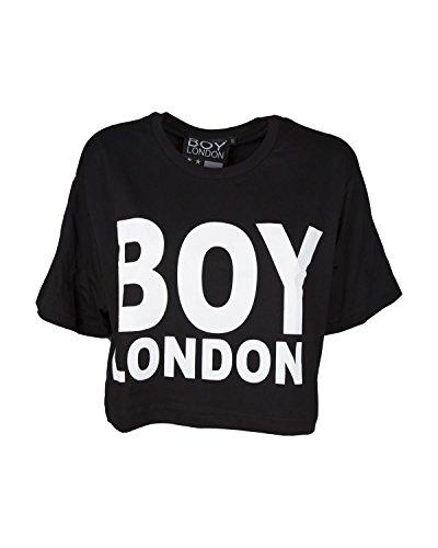 Boy London T-Shirt Donna BL1035 Corta con Stampa