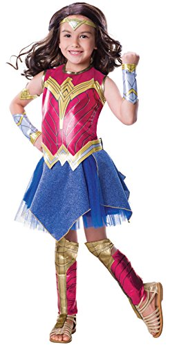 Rubie's Justice League Child's Wonder Woman Deluxe Costume, Small -