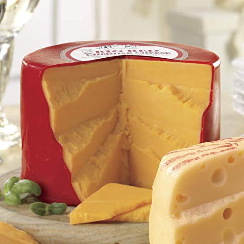 (Big Red Cheddar Cheese, 1 1/4 lbs. from The Swiss Colony)