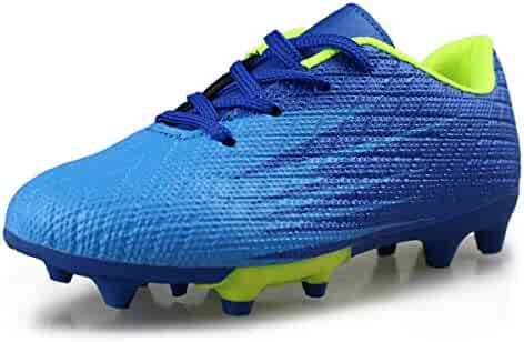 8cf4f8f7573b Hawkwell Kids Athletic Outdoor/Indoor Comfortable Soccer Shoes(Toddler/Little  Kid/Big
