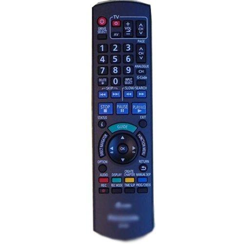 Replacement Remote Control For Panasonic DVD/R VCD N2QAYB000197 DMR-EZ475VPK Recorder