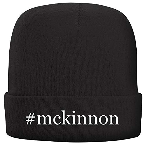 (BH Cool Designs #McKinnon - Adult Hashtag Comfortable Fleece Lined Beanie, Black)