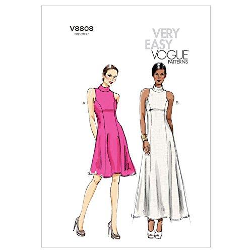 (Vogue Patterns V8808 Misses/Misses Petite Dress, Size A5 (6-8-10-12-14))
