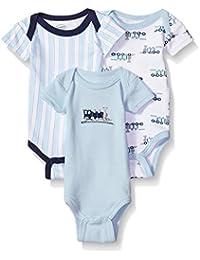 Baby Infant Preemie Bodysuits, 3-Pack