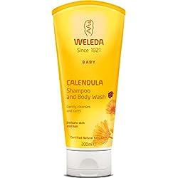 Weleda Calendula Baby Shampoo and Body Wash, 6.8-Ounce