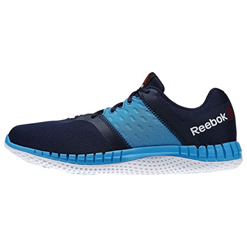 Reebok Herren Zprint Run Neo Laufschuhe Azul  (Collegiate Navy / Wild Blue / White)