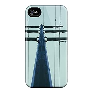 Jesussmars WzXIaWj7838XZHDc Case Cover Skin For Iphone 4/4s (telephone Pole)