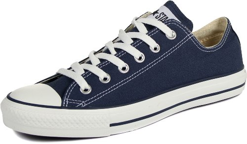 Converse Unisex Chuck Taylor All Star Ox Low Top Navy Sneakers - 11.5 D(M) US