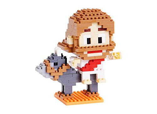 Jesus Comes to Jerusalem as King Mini Building Block Set - Bible Inspired, Faith Based, Christian Toy - Jesus + Donkey Figure = 270 pcs - Recommended Ages 8+ | TOVBLOCK (Jesus Christ Toy)
