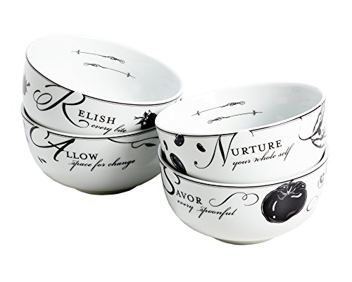 (Livliga Celebrate Portion Control Soup Bowls, Set of 4)
