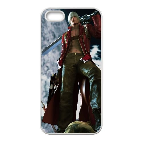 Devil May Cry 4 iPhone 4 4s Cell Phone Case Whiteten-111236