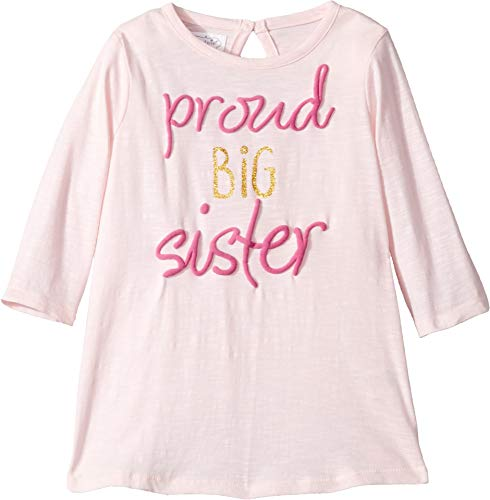 (Mud Pie Baby Girl's Big Sister Tee (Infant/Toddler) Pink MD (2T-3T Toddler))