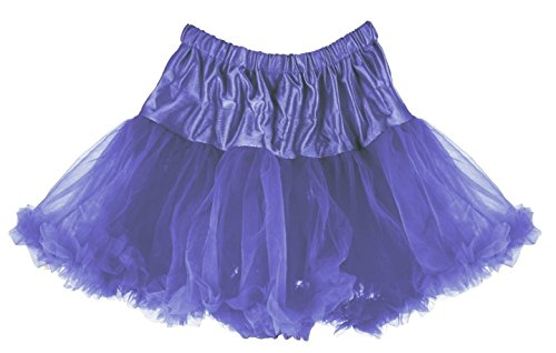 Periwinkle Layered Ruffled Pettiskirt & Someone Special Princess Charm Bracelet - 1