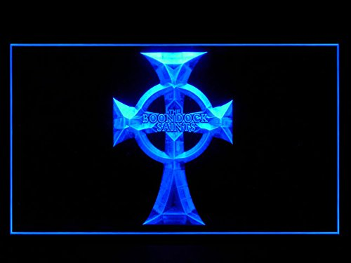 (Boondock Saints (Pattern 2) Bar Hub Advertising LED Light Sign J973B)