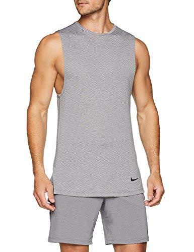 Nike Fitted Utility Men's Training Tank (Gunsmoke/Atmosphere Grey/Black, XX-Large) by Nike