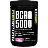 NutraBio BCAA 5000 Powder - 60 Servings (Kiwi Strawberry)