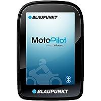 Blaupunkt MotoPilot - Motorrad Navigation 3,5 Zoll (8,9 cm) Touch-Display, Kartenmaterial Gesamteuropa, TMC, Bluetooth, schwarz