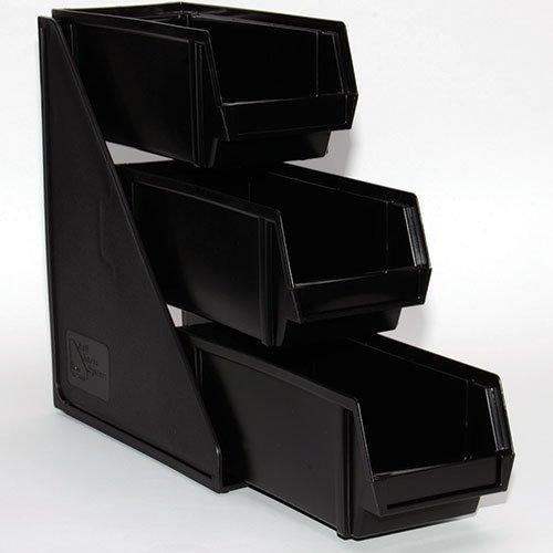 """Vollrath 4842-06 Condiment Bin Organizer System - 3 Tier, (3) 8""""D Bins"""