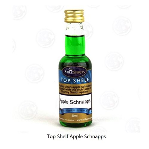 MOONSHINE ALCOHOL FLAVORING Apple Schnapps Flavor STILL SPIRITS Top Shelf 50ml