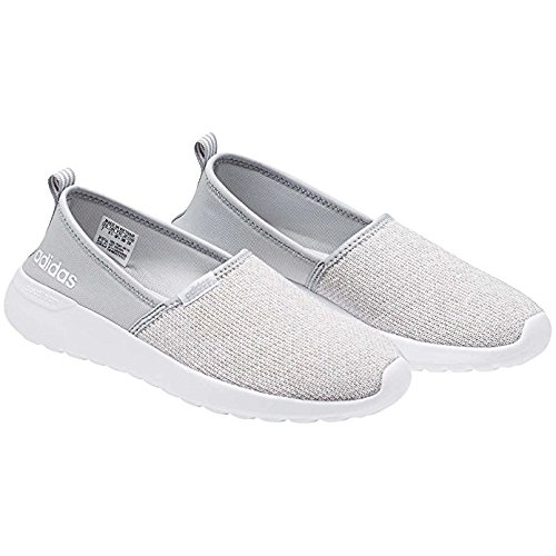 competitive price 26c27 bdb16 Galleon - Adidas NEO Women s Lite Racer Slip On W Casual Sneaker (9.5, Grey  White)