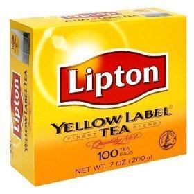 Lipton Yellow Label Tea Bags 100ct, 1 pack (Lipton Tea Bags)