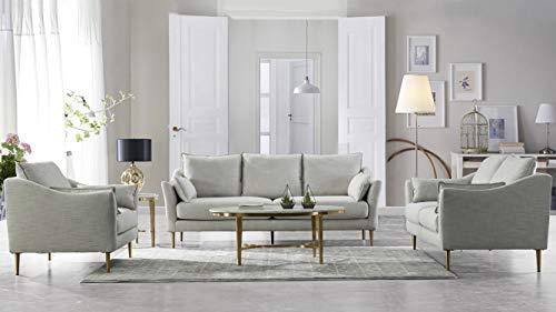 3 Piece Metal Sofa - 1