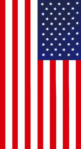 Dohler Beach Towel, American Flag