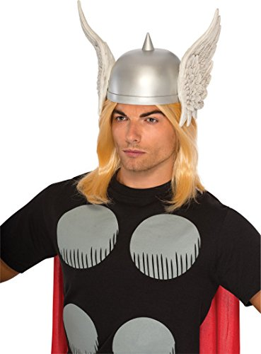 Winged Helmet (Rubie's Costume Men's Marvel Universe Adult Thor Headpiece, Multi, One Size)