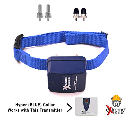 Xtreme Dog Fence G2 Stubborn Dog Fence Dog Collar with Large and Medium Set of Contacts for Dogs That Need Stronger Correction Levels Than The Native Active Collars by Extreme Dog Fence