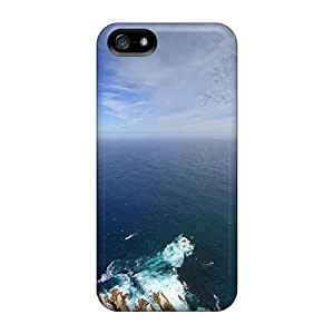 Iphone 5/5s Cases Slim [ultra Fit] Large Seascape Protective Cases Covers