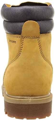JACK & JONES Jjstoke Nubuck Herren Halbschaft Stiefel Braun (Golden Brown)