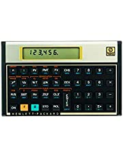 Calculadora Financeira HP 12C Gold - Display LCD Com mais de 120 Funções Sistema de entrada RPN(notação reserva Polonesa) - F2230A#B17