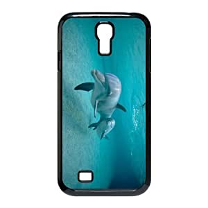 Cell phone case Of Dolphin Bumper Plastic Hard Case For Samsung Galaxy S4 i9500
