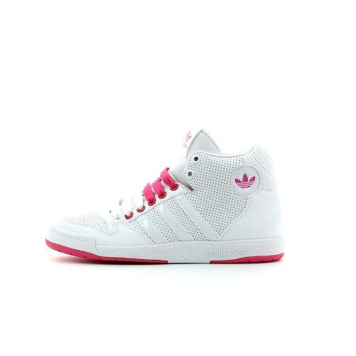 adidas Originals Midiru Court Mid W - Zapatillas de Deporte de material sintético Mujer - BLANC/ROSE
